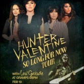 So Long For Now Tour- Hunter Valentine & Lori Garrote